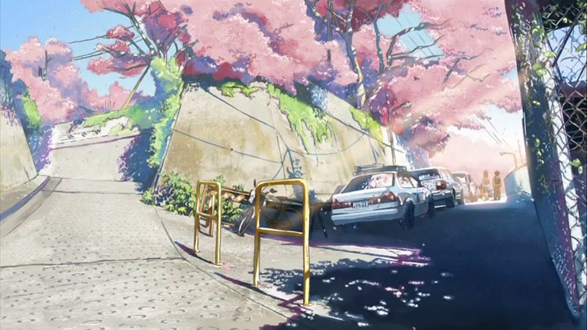five_centimeters_per_second-cherry_blossoms-sunlight-spring